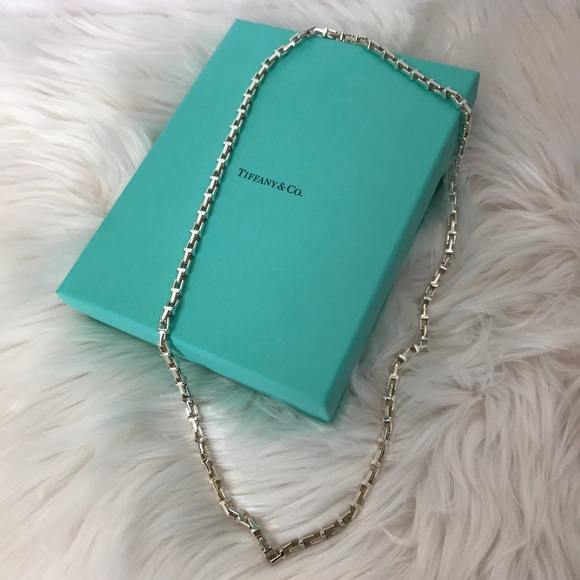 d99c6c45c Tiffany & Co. Jewelry | Tiffany Co Necklace Silver Hardwear Link New ...